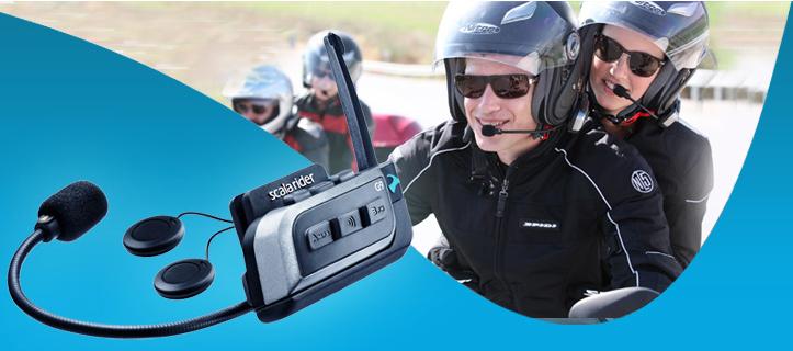 Cardo Scala Rider G9 motorcycle intercom - duo set