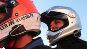 Cardo Scala Rider Q1 Teamset - fitted on helmets
