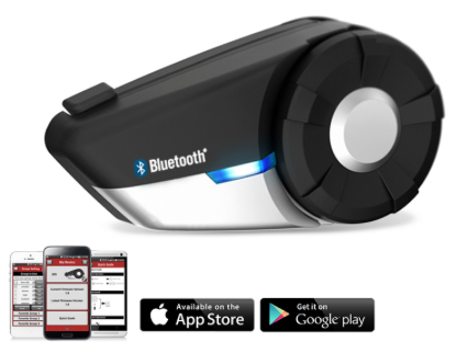Sena 20s motorcycle intercom app in App Store iTunes and Google Play