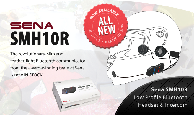 Sena SMH10R Low Profile