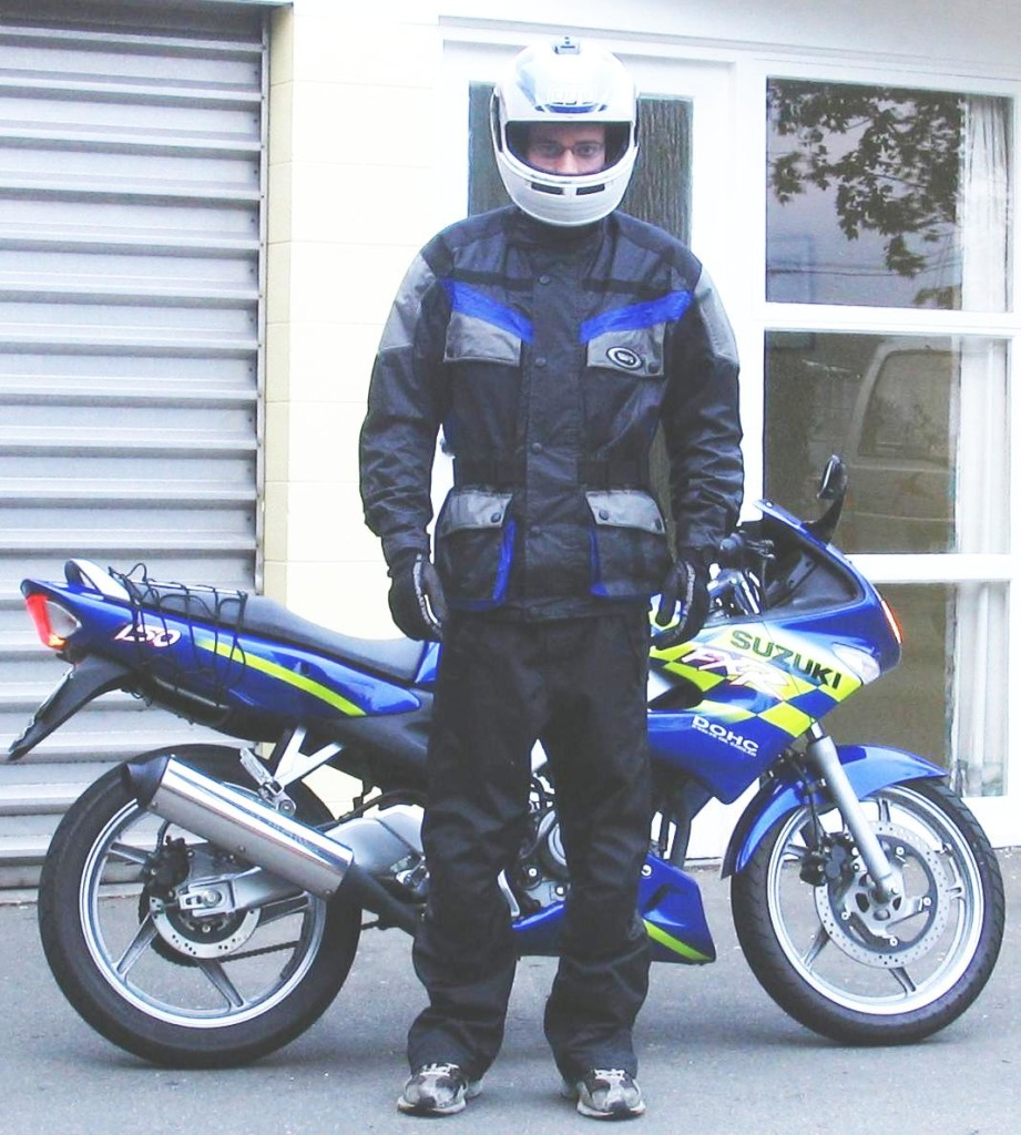 Motorcycle safety gear clothing