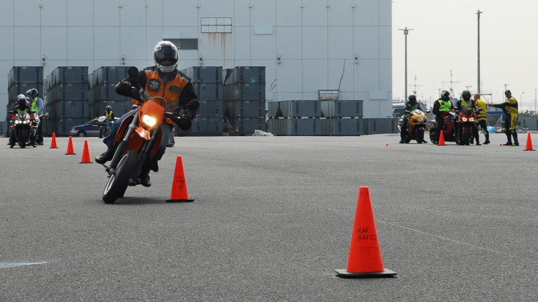 motorcycle handling and safety training
