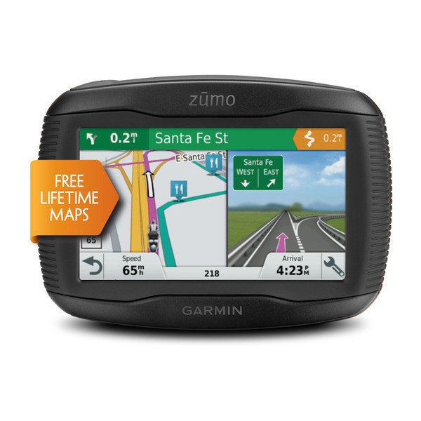 Garmin Zumo 595LM Motorcycle GPS device