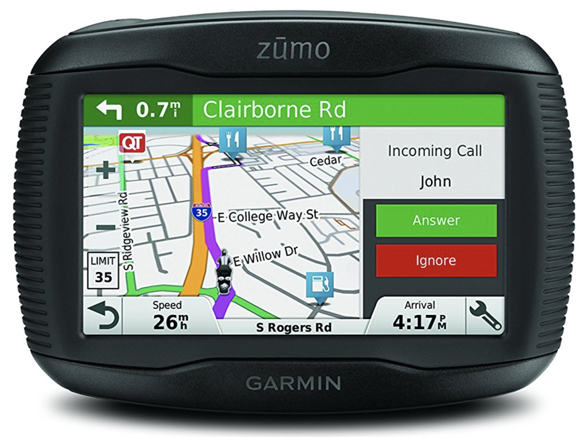 garmin zumo 395lm motorcycle gps review motorcycle intercoms. Black Bedroom Furniture Sets. Home Design Ideas