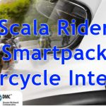 Scala Rider Smartpack Bluetooth Motorcycle Intercom Headset