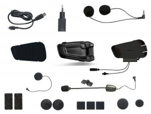 Scala Rider Smartpack Duo Bluetooth Motorcycle Intercom - included in package