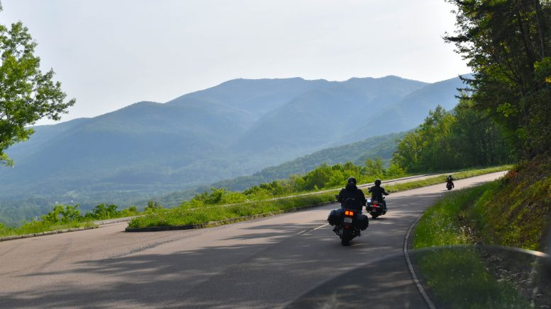 Great Smoky Mountains National Park motorcycle road trip
