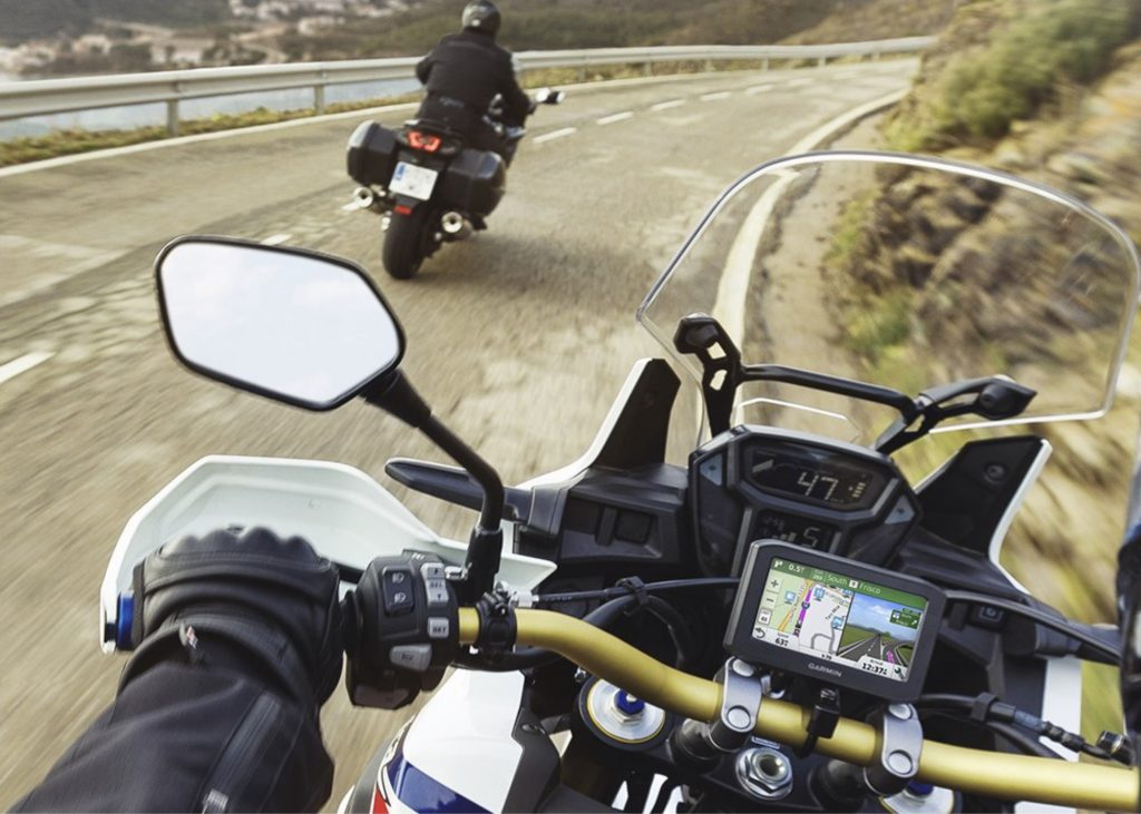 Garmin Zumo 396 LMT-S Motorcycle GPS - great design, easy to use